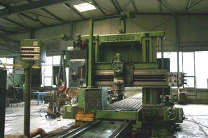 Plano machine SPM before