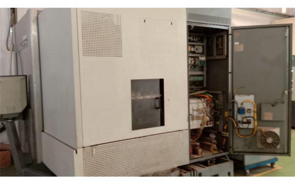 DMG 3 axis machine after